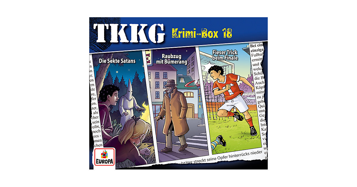 CD TKKG-Krimi-Box 18
