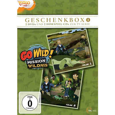 DVD Go Wild Mission Wildnis - Geschenkbox 1 (2DVD+2CD)