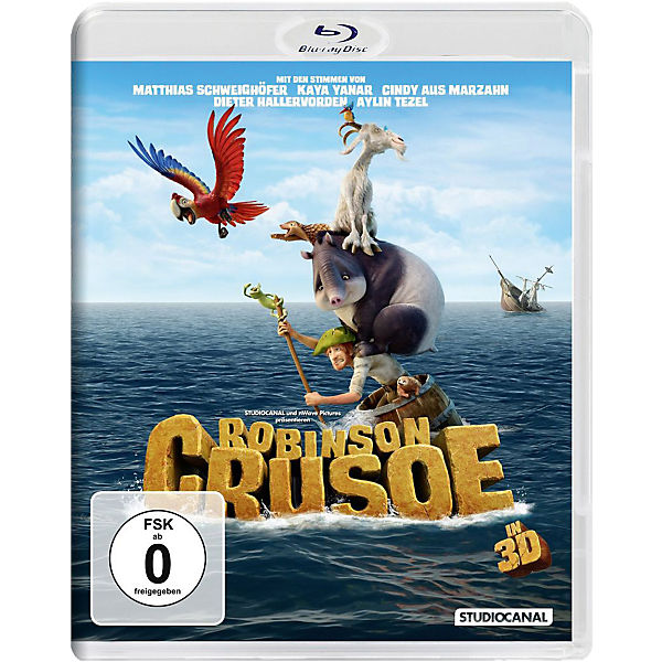 BLU-RAY Robinson Crusoe 3D-Version