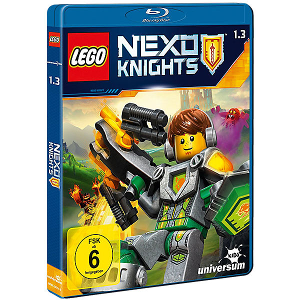 BLU-RAY LEGO Nexo Knights - Season 1.2