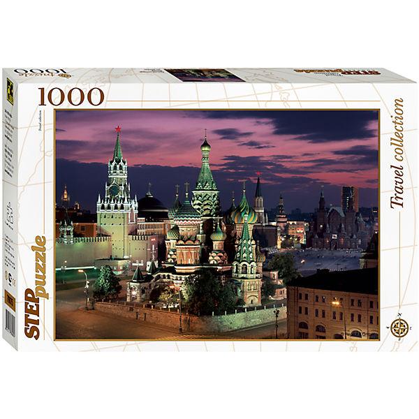 "Пазл ""Красная площадь. Москва"", 1000 деталей, Step Puzzle"