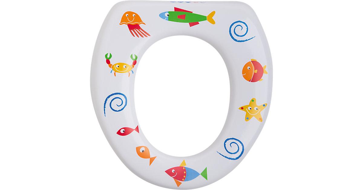 ROTHO BABYDESIGN · Rotho Babydesign Soft WC-Sitz ohne Griffe Motiv Seaworld weiß