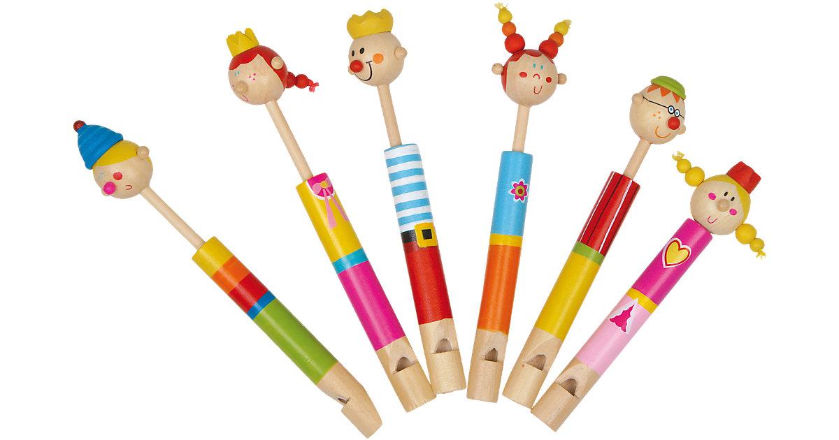 Flöten-Familie 6er-Set