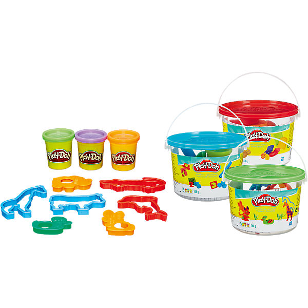 Play-Doh Spaßeimer, Sortiment