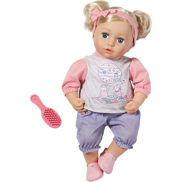 baby born puppe mit haaren