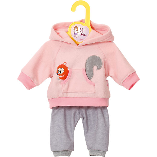 Dolly Moda Puppenkleidung Sport-Outfit Pink 38-46 cm