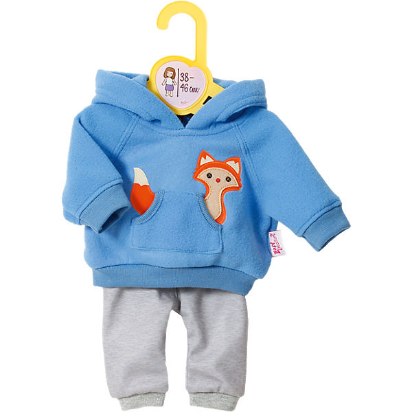 Dolly Moda Puppenkleidung Sport-Outfit Blau 38-46 cm
