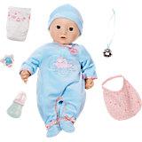 Многофункциональная кукла-мальчик , 46 см, Baby Annabell