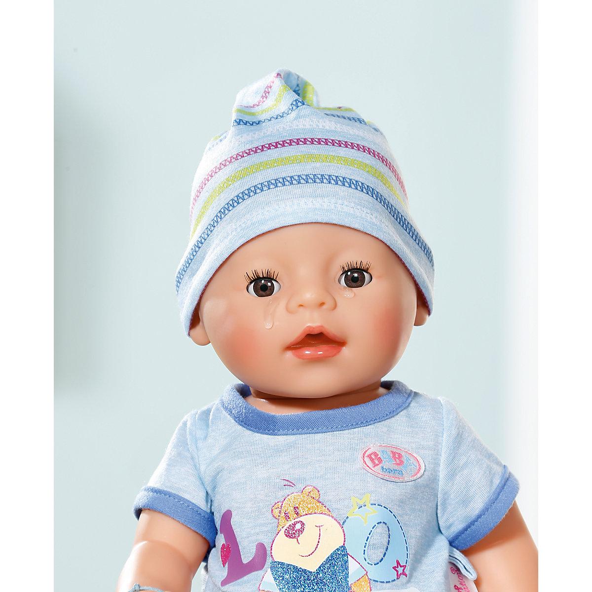 Baby Born 174 Babypuppe Interactive Boy 43 Cm Zapf Creation