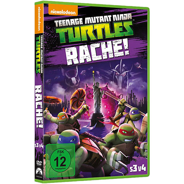 DVD Teenage Mutant Ninja Turtles: Rache - Season 3.4