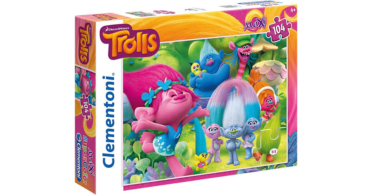 Maxi Puzzle 104 Teile - Trolls