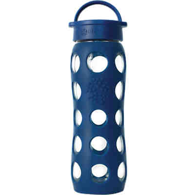Lifefactory Trinkflasche Glas  midnight blue, 650 ml