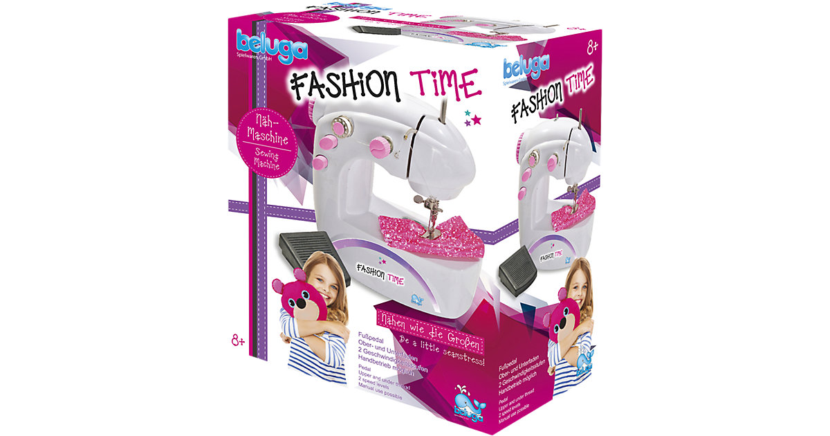 fashion time Kinder-Nähmaschine