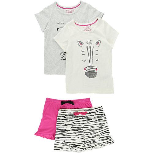 Marks & Spencer Schlafanzug Doppelpack Gr. 110/116 Mädchen Kinder