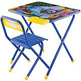 Набор мебели Дэми Попугай Кеша (3-7 лет), синий