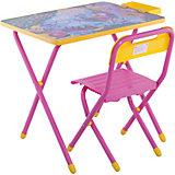Набор мебели Дэми Попугай Кеша (3-7 лет), розовый