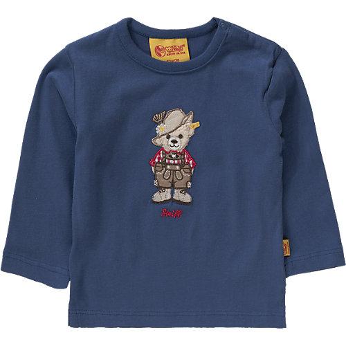 Steiff Collection Baby Langarmshirt Gr. 80 Jungen