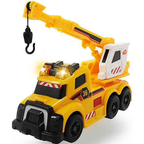 Машина с краном Dickie Toys со светом и звуком от Dickie Toys