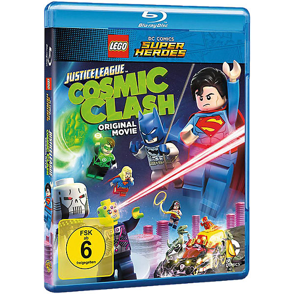 BLU-RAY LEGO DC Comics Super Heroes: Justice League - Cosm