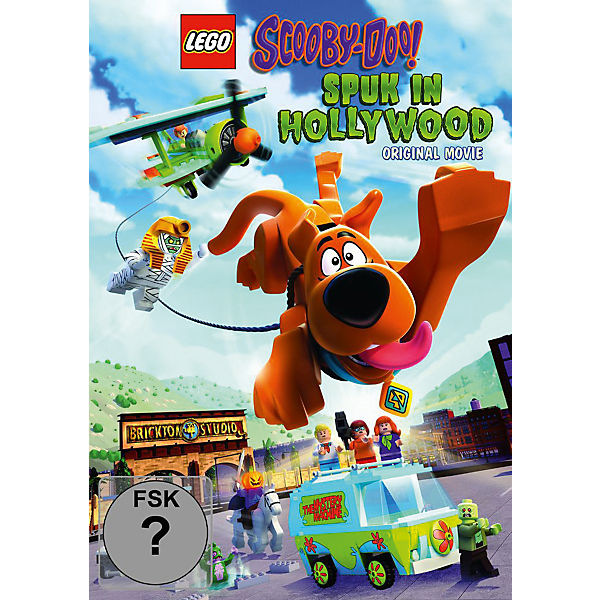 DVD LEGO Scooby Doo!: Haunted Hollywood