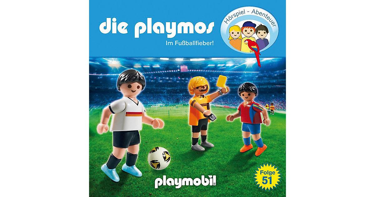 CD Die Playmos 51 - Im Fußballfieber Hörbuch
