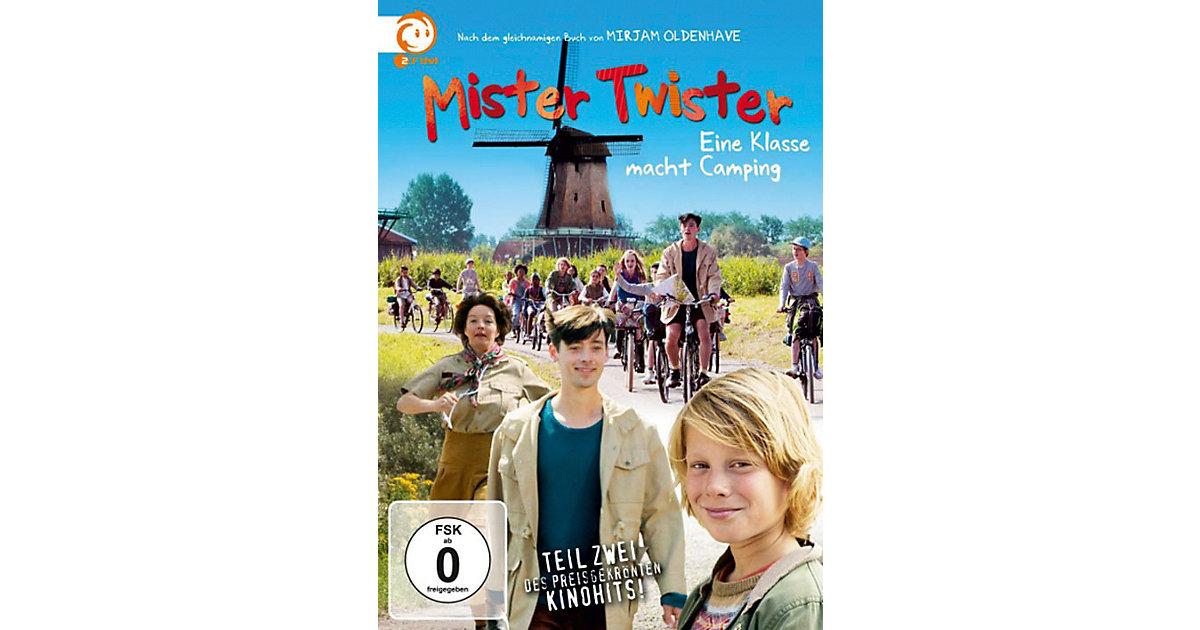 DVD Mister Twister - Eine Klasse macht Camping