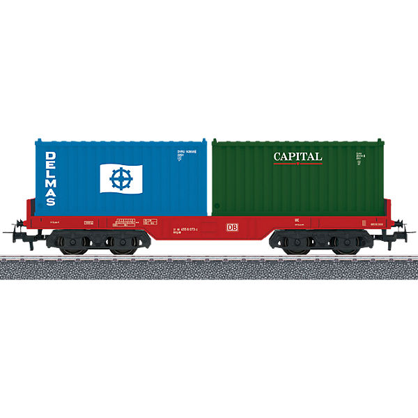 Märklin START UP 44700 mit Containertragwagen mit 44700 stirnseitigen Bordwänden., Märklin Start Up 85f839