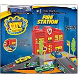 """Набор """"Пожарная станция с машинкой"""", Dave Toy"""
