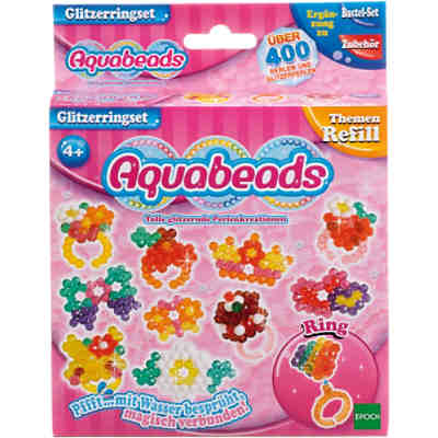 Aquabeads Glitzerringset