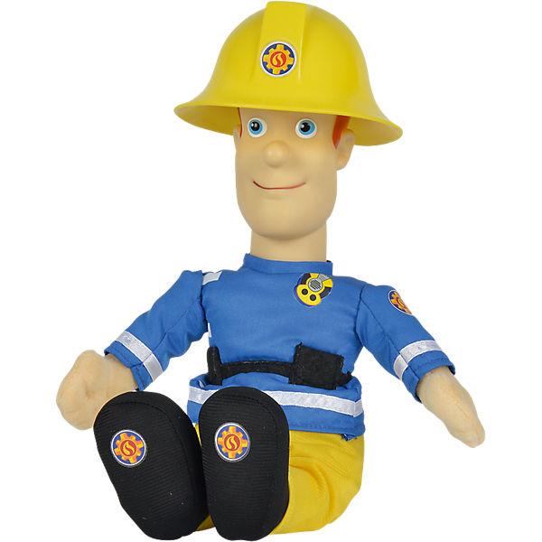 Feuerwehrmann Sam Sprechender Sam, 30cm, Feuerwehrmann Sam