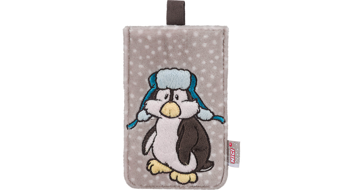 Plüsch-Handyhülle Pinguin