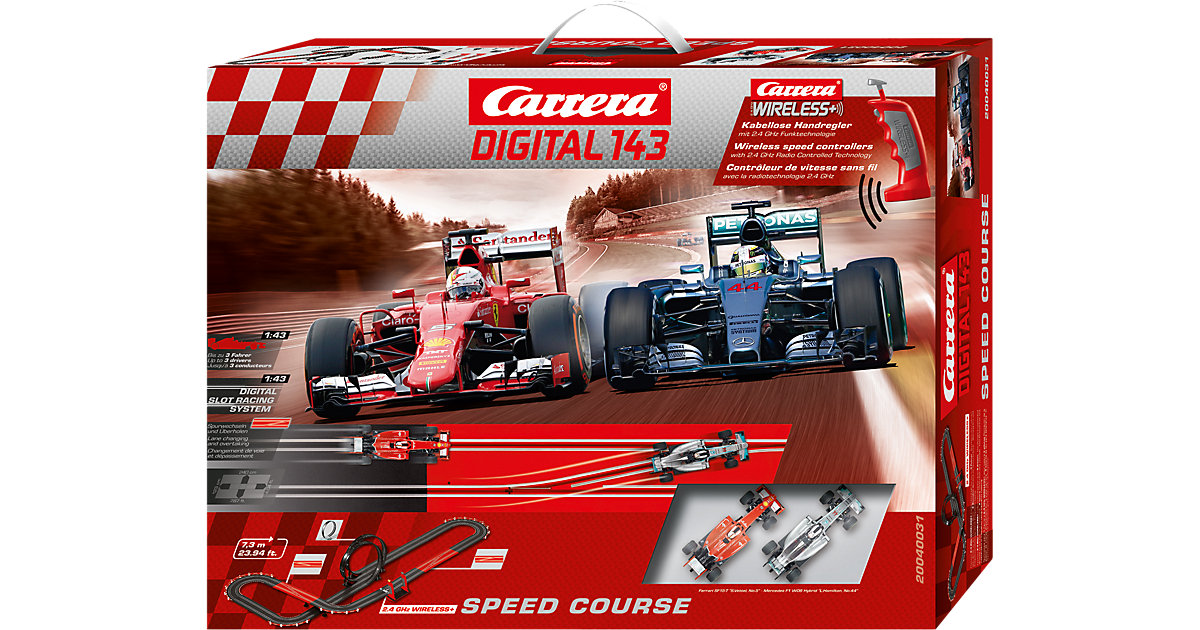Carrera Digital 143 40031 Speed Course