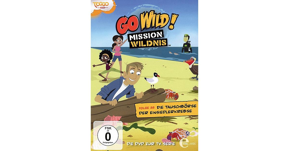DVD Go Wild Mission Wildnis 22 - Die Tauschbörs...