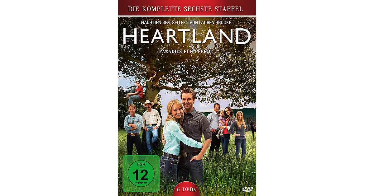 DVD Heartland - Paradies Pferde, Season 6 Kinder