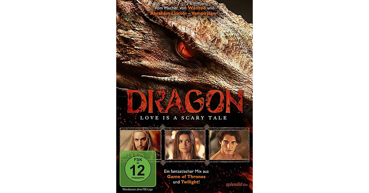 DVD Dragon - Love Is a Scary Tale