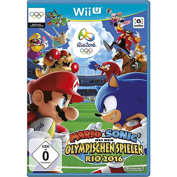 Wii U Mario Sonic Bei Den Olympischen Spielen Rio 2016 Super