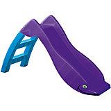 Горка Детская, PalPlay, фиолетовая