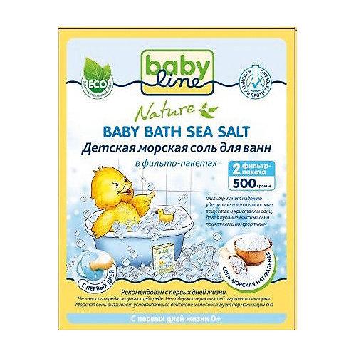 Детская морская соль для ванн, Babyline, 500 гр. от Babyline