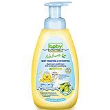 Средство для купания и шампунь BabyLine Nature с маслом оливы 500 мл.