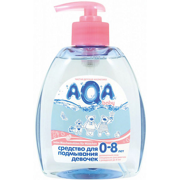 Средство для подмывания девочек, AQA baby