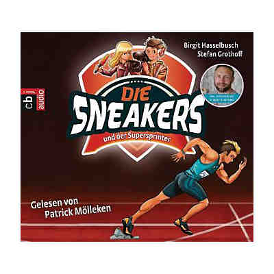 Die Sneakers und der Supersprinter, 2 Audio-CDs