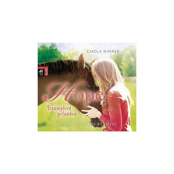 Hope: Traumpferd Gefunden, 3 Audio-CDs, Carola Wimmer