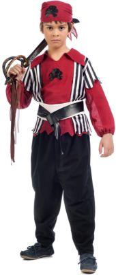 Kostüm Pirat Shanks Gr. 116/128 Jungen Kinder
