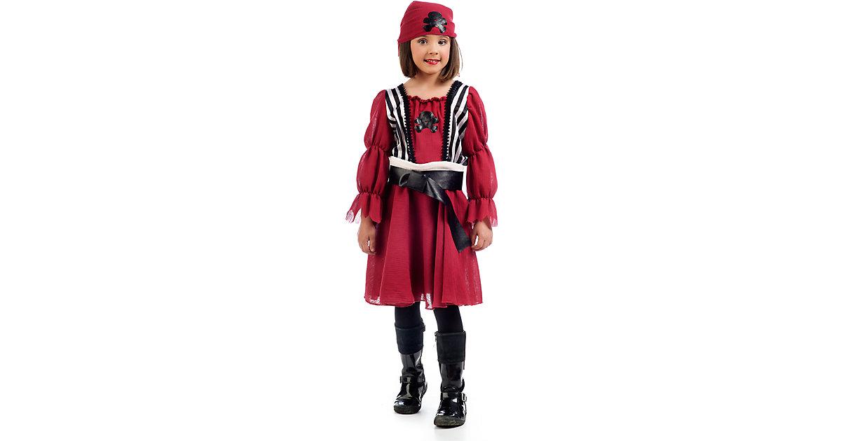 Kostüm Piratin Nami Gr. 140/152 Mädchen Kinder