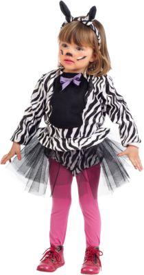 Kostüm Kleines Zebra Gr. 104/110