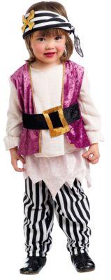 Kostüm Piratin Anne Gr. 80/86 Mädchen Kinder