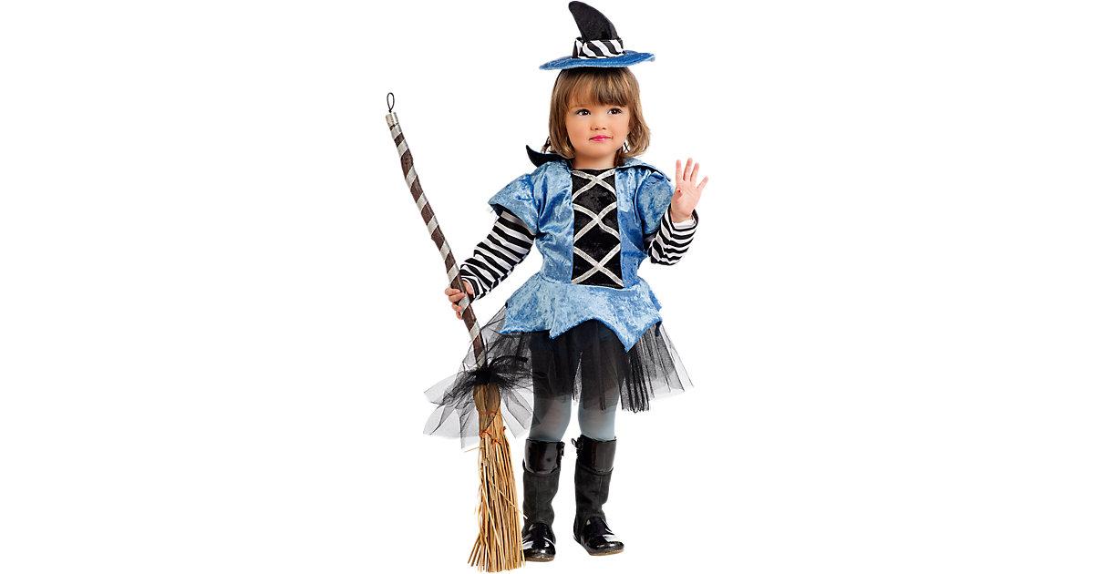 Kostüm Hexe Laurie, 2-tlg. hellblau Gr. 80/86 Mädchen Kinder