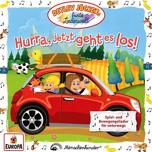 Detlev Jöcker - Hurra,jetzt geht es los! [CD] jetztbilligerkaufen