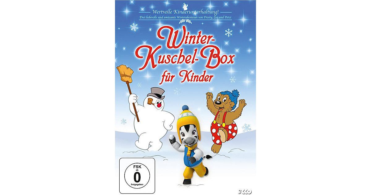 DVD Winter-Kuschel-Box Kinder - Frosty, Zeo und...