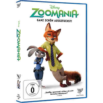 DVD Disney's - Zoomania